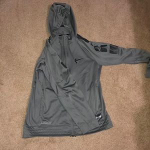 Hooded Nike Zip up